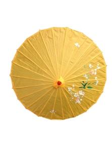 12x PARASOL UMBRELLA Chinese Japanese Bamboo Flower Pattern 80cm Large BULK New