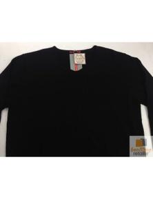 Australian Merino Wool V Neck LONG SLEEVE TOP Knit Sweater Knitted Warm Jumper