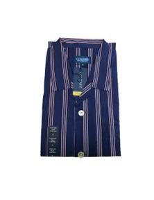 CONTARE 100% COTTON Pyjamas PJs LONG SLEEVE SHIRT & PANTS SET Mens PLUS