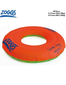 ZOGGS Stage 2 Swim Ring Children's Swimming Floatie Zoggy Kids Learn Training Inflatable