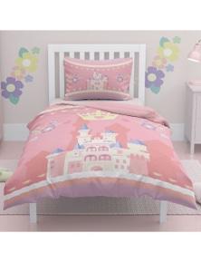 OliandOla  Single Kids Cotton Quit Cover Set Princess