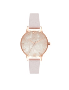 Olivia Burton Semi Precious Rose Gold Watch