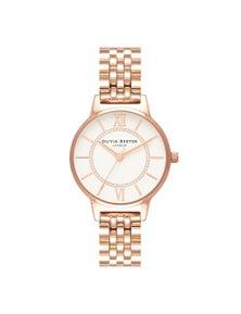 Olivia Burton Wonderland Rose Gold Bracelet Watch