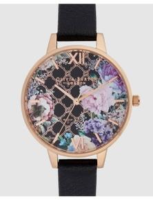Olivia Burton Glasshouse Rose Gold Watch