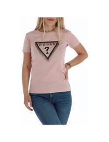 Guess Women's T-Shirt In Pink