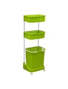 3 Tier Bathroom Laundry Clothes Basket Hamper