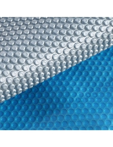 Real 400 Micron Solar Swimming Pool Cover in Size 8x4.2M