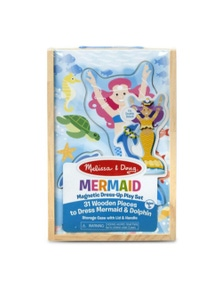 Melissa & Doug - Mermaid Magnetic Dress-Up Play Set