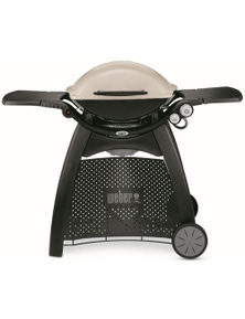 Weber Family Q Titanium (Q3100) LPG (for use with Gas Bottle Only) BBQ