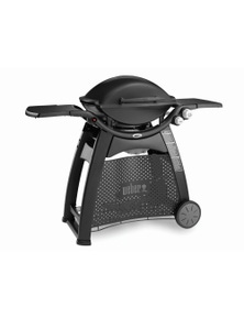 Weber Family Q Black (Q3100) LPG (Gas Bottle Only) BBQ