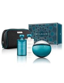 Bvlgari Aqua 4Pc by Bvlgari for Male (100ML) Eau de Toilette - GIFT SET