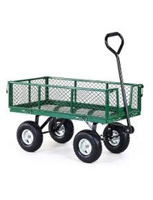 Kartrite Garden Cart with Mesh Liner Lawn Folding Trolley