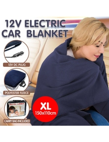 Royal Manchester Heated Electric Car Blanket 150x110cm 12V
