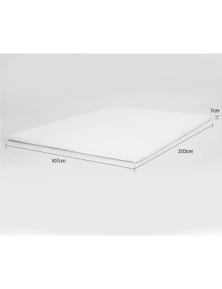 Laura Hill High Density Mattress Foam Topper 7Cm King Single