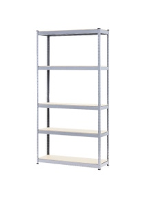 Kartrite 5 Shelf Storage Rack Galvanized Steel 180 x 120cm