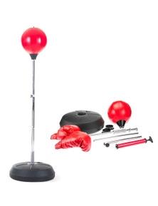 PowerTrain Freestanding Punching Ball Gloves Set