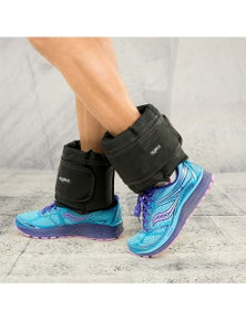 PowerTrain 2 x 5kg Adjustable Ankle Exercise Running Weights
