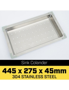 Klika Stainless Steel Sink Colander 445 x 275mm