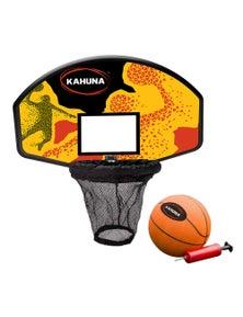Kahuna Trampoline Basketball Backboard Hoop Set