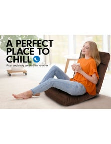 Laura Hill Adjustable Cushioned Floor Gaming Lounge Chair