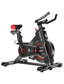 PowerTrain Heavy Flywheel Exercise Spin Bike IS500