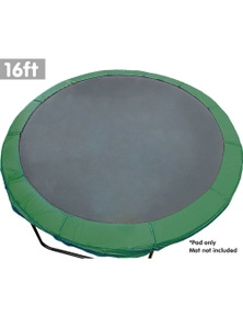 Kahuna 16ft Replacement Trampoline Pad Reinforced Outdoor Round Spring Cover
