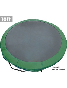 Kahuna 10ft Replacement Trampoline Pad Reinforced Outdoor Round Spring Cover
