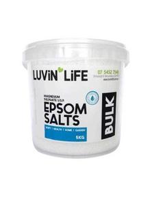 Luvin Life 5kg Epsom Salt Bucket