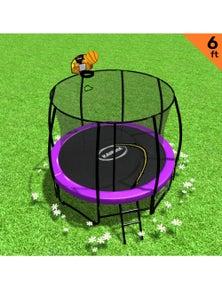 Kahuna Classic 6ft Trampoline with Basketball Set