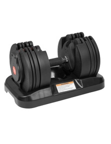 PowerTrain 20kg Adjustable Home Gym Dumbbell