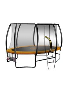 Kahuna Oval Outdoor Trampoline 8 ft x 14ft