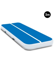 PowerTrain 3m x 1m Air Track Tumbling Gymnastics Exercise Mat