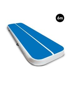 PowerTrain 6m x 1m Air Track Tumbling Gymnastics Exercise Mat