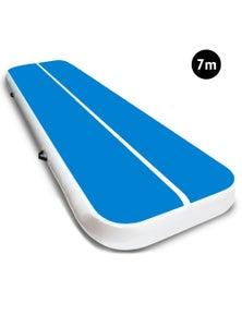 PowerTrain 7m x 1m Air Track Tumbling Gymnastics Exercise Mat