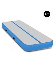PowerTrain 4m x 2m Air Track Tumbling Gymnastics Exercise Mat