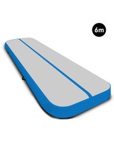 PowerTrain 6m x 2m Air Track Tumbling Gymnastics Exercise Mat