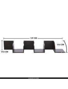 Laura Hill 5-Tier Corner Wall Display Storage Shelves