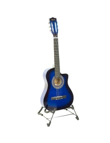 Karrera 38in Cutaway Acoustic Guitar with Guitar Bag