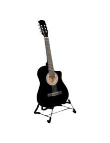 Karrera 38in Pro Cutaway Acoustic Guitar with Guitar Bag