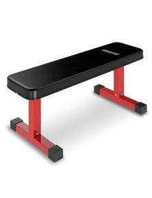 PowerTrain Flat Home Gym Bench Press Fitness Equipment