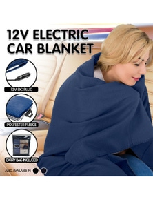 Laura Hill Heated Electric Car Blanket 150x110cm 12V