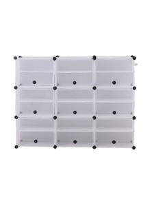 Levede 126x96x32c 3 Column 6 Row Shoes Cabinet