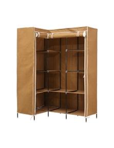 Levede L Shape Large Portable Wardrobe with Shelves