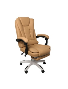 Leather Gaming Office Chair with Pedal