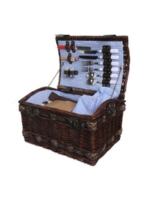 Deluxe 2 Person Picnic Basket Set with Accessories