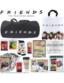 Friends TV Show Showbag Bag - Duffel, Socks, Keychain, Coasters Stickers & More