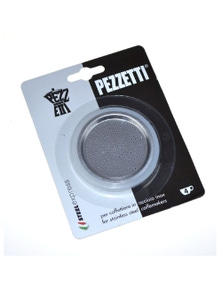 Pezzetti Silicone Ring Gasket + Filter Plate Stainless Steel Percolator - 4 Cup