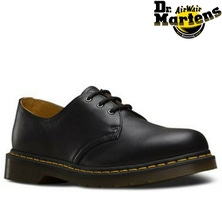 Dr. Martens 1461 Black Nappa Genuine Leather Shoes 3 Eye Low Top