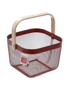 Box Sweden Mesh Storage BasketBrown