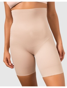 Miraclesuit Shapewear Adjustable Fit Hi Waist Thigh Slimmer